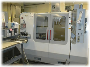 CNC Milling machines used at M.A Harrison Mfg in Wakeman Ohio